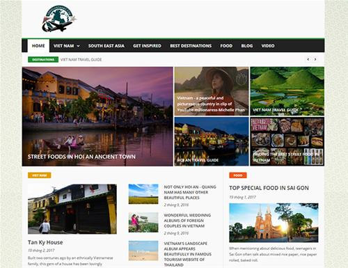 Website Travel Vietnam