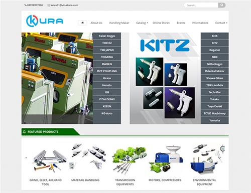 Website KURA VIET NAM CO.,LTD