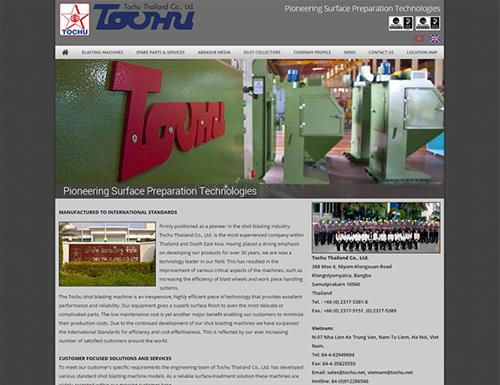 Website Tochu Thailand Co. Ltd